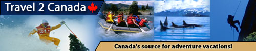 Travel 2 Canada vacation banner